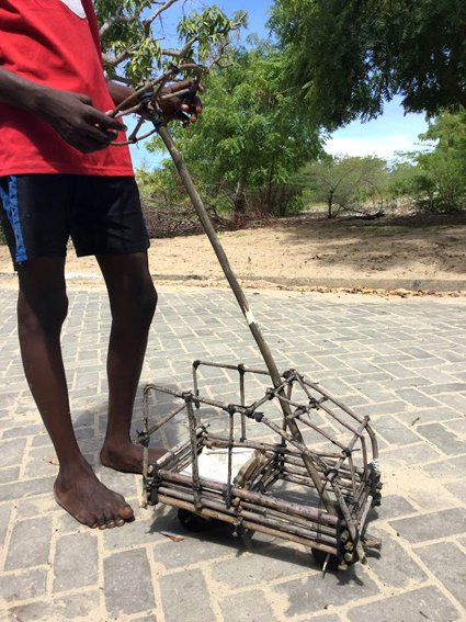 Anidan Centre, Antony  Msangi, 13, Toy car, recycled