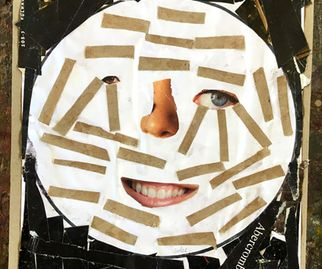 Anidan Centre, Sudes Abdalla, 12, Mask, collage