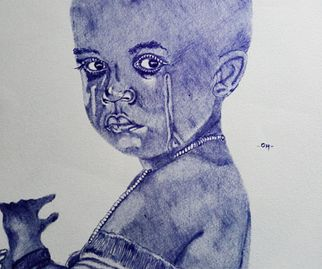 Rugwiza Olivier, 18, Cry Your Eyes Out, ballpoint
