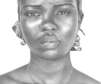 COMMENDED. Eva Chemng_orem, 23, Irora, pencil