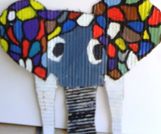 CHILDREN OF GOD RELIEF INSTITUTE, Talia Khavele 11, Elephant, recycled
