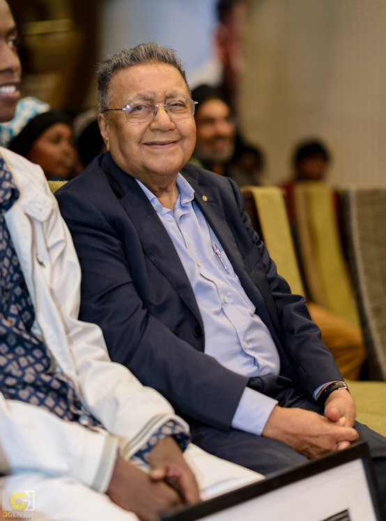 Dr Manu Chandaria, MASK supporter